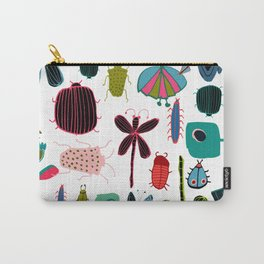 Insect watercolor white Carry-All Pouch