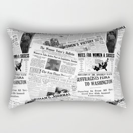 WOMEN'S SUFFRAGE Rectangular Pillow