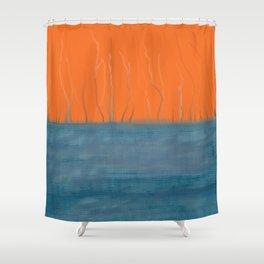 Threadbare Shower Curtain