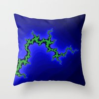 climbing Throw Pillows featuring tree climbing by donphil