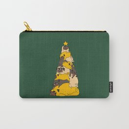 Christmas Tree Pugs Carry-All Pouch