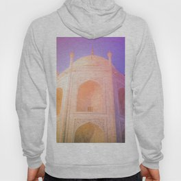 Morning Light Reflexion at Taj Mahal Hoody