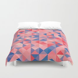 colorful Triangles 1 Duvet Cover