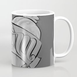 Mom's Tattoo (Black and White) Coffee Mug
