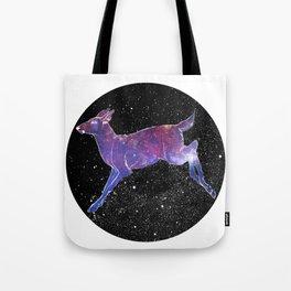 Space Deer Tote Bag