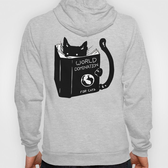 World domination - for cats Hoody