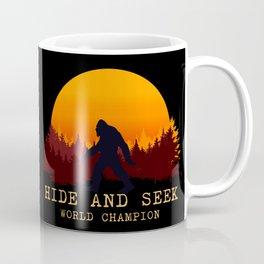 Bigfoot - Hide and Seek World Champion Coffee Mug