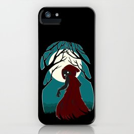 Red Riding Hood 2 iPhone Case