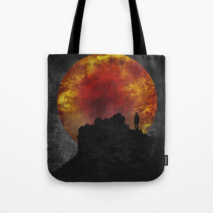 ash and fire Tote Bag