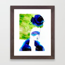 The breeze Framed Art Print
