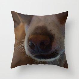 Nosey Throw Pillow