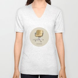 waiting for a good job Unisex V-Neck