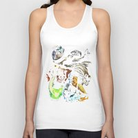 ripley Tank Tops featuring Ripley´s nightmare by Zinge Designs
