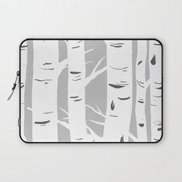 Gray Birches Laptop Sleeve
