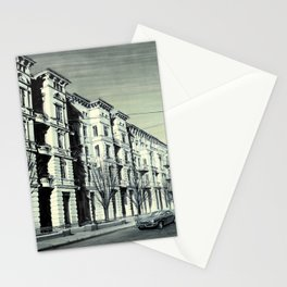 THE MAGICAL STREET OF SZCZECIN Stationery Cards