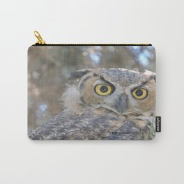 Young Owl at Noon Carry-All Pouch