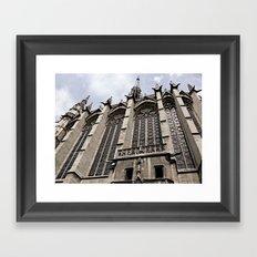 gothic style Framed Art Print