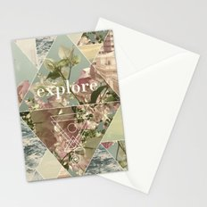 Explore - II Stationery Cards