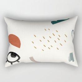 Look At Me Rectangular Pillow