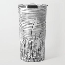 Fountain Grass Travel Mug