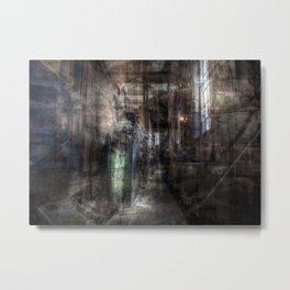 Urban Mindscape Metal Print