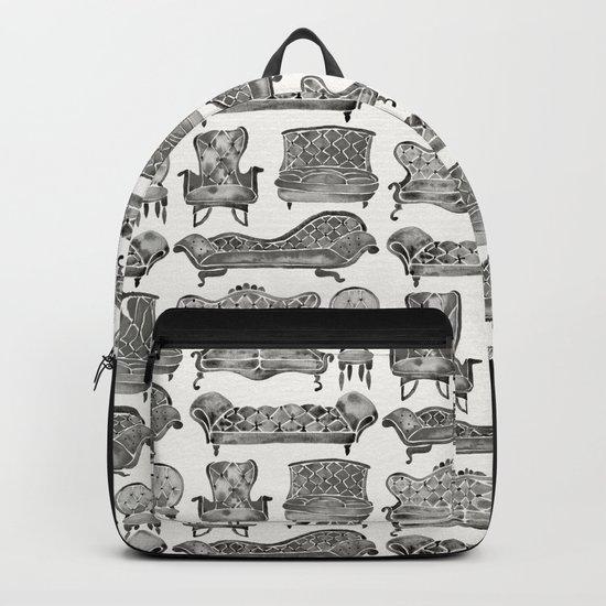 Victorian Lounge – Black Palette Backpack