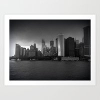 newyork city Art Print