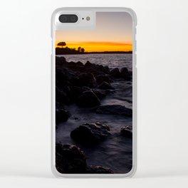 Lake Waco pt.3 Clear iPhone Case