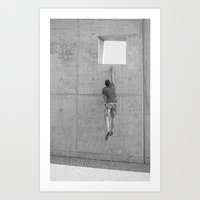 aperture Art Prints featuring Aperture jump. by TeddyGraphics