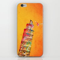 italy iPhone & iPod Skins featuring Italy  by mark ashkenazi