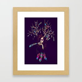 Wiccarious Framed Art Print