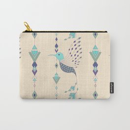 Vintage ethnic tribal aztec bird Carry-All Pouch