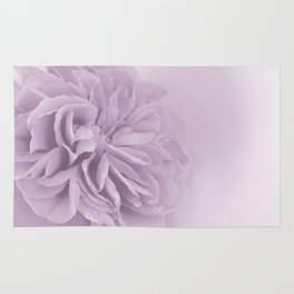 Light Lilac Rose #6 #floral #art #society6 Rug