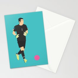 Gigi Buffon Italy Print Stationery Cards