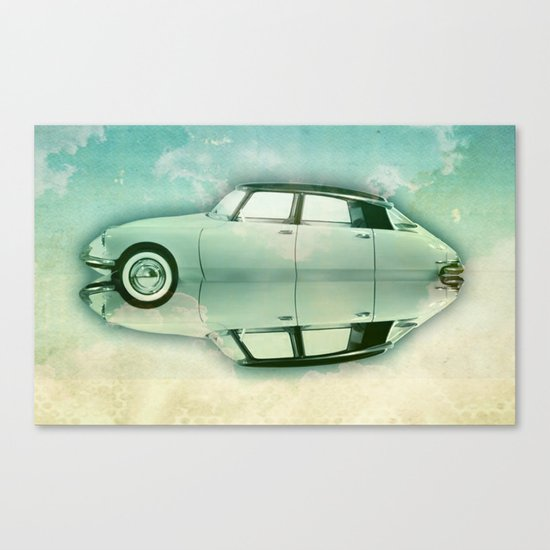 Siamese citroen Canvas Print