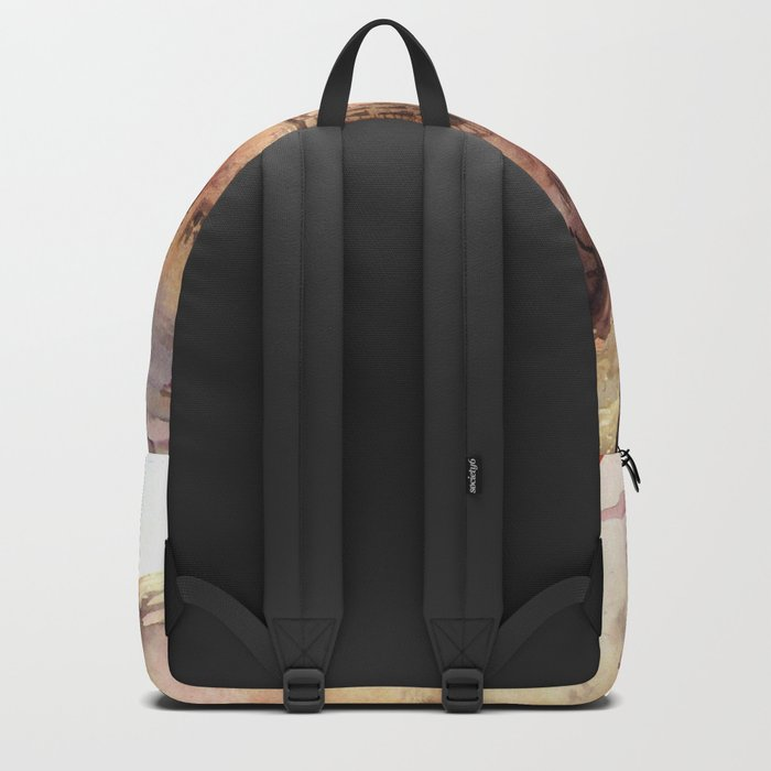 Italy oldtown Arezzo Backpack