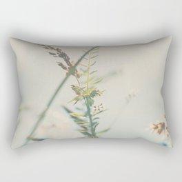 lying amongst the wild flowers dreaming my life away ... Rectangular Pillow