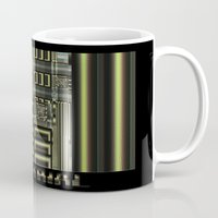 industrial Mugs featuring Industrial by inkedsandra
