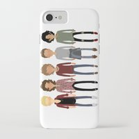 cargline iPhone & iPod Cases featuring Long Hair Simplistic  by cargline