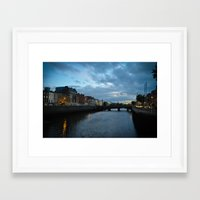 dublin Framed Art Prints featuring Dublin by Ashley Hirst Photography