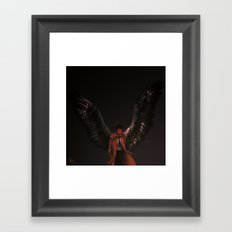 But Underneath All That Framed Art Print