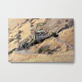 Remains of Gamla Metal Print