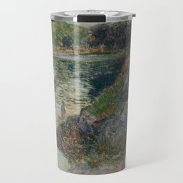 The Banks of River Aven Travel Mug