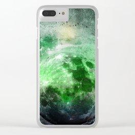 MOON under MAGIC SKY II Clear iPhone Case