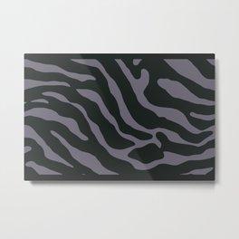 Tiger Skin Pattern Scarpa Flow Metal Print