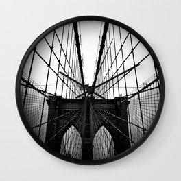 Broolyn Bridge Wall Clock