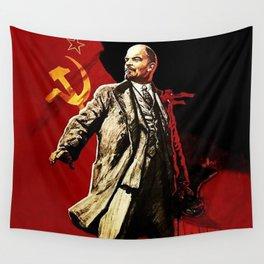 Vladimir Lenin Wall Tapestry