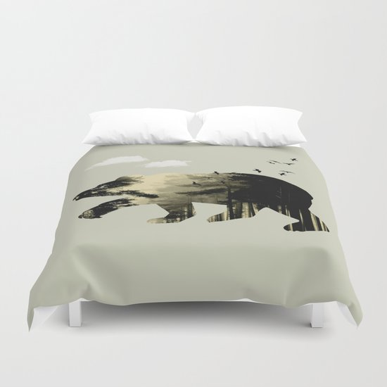 Bear Day Out Duvet Cover