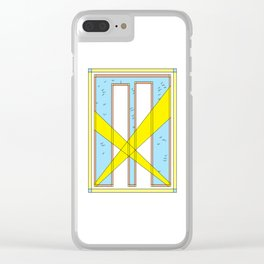 3 Weeks After Paradise - a 9/11 tribute Clear iPhone Case