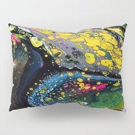 Acrylic Fluid Pour Art Pillow Sham